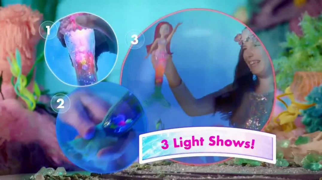 Disney Princess Glitter n Glow Ariel TV Commercial Ad, Light Shows