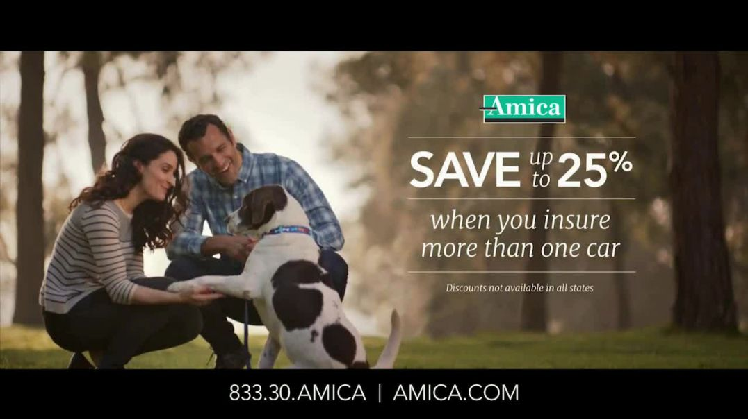 Amica Mutual Insurance Company TV Commercial Ad, Rescue Dog