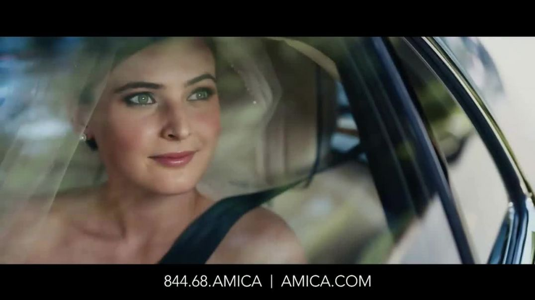 Amica Mutual Insurance Company TV Commercial Ad, Bride Auto