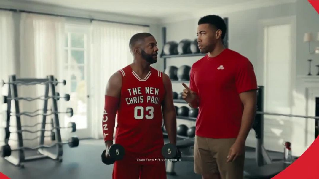 State Farm TV Commercial Ad, I Am Chris Paul Featuring Alfonso Ribeiro