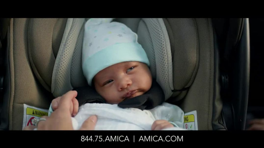 Amica Mutual Insurance Company TV Commercial Ad, Baby Auto
