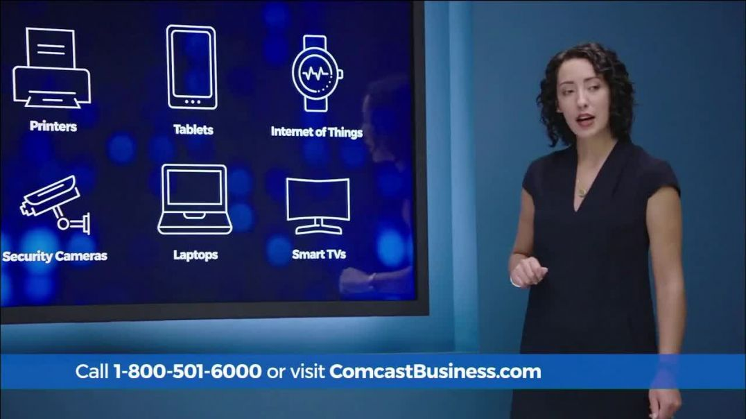 Comcast Business SecurityEdge TV Commercial Ad, Daily Security Updates $64