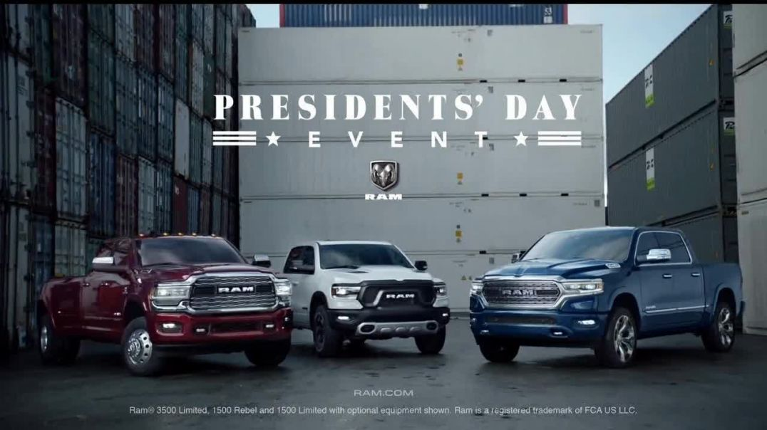 Ram Trucks Presidents Day Event TV Commercial Ad, New Perspective