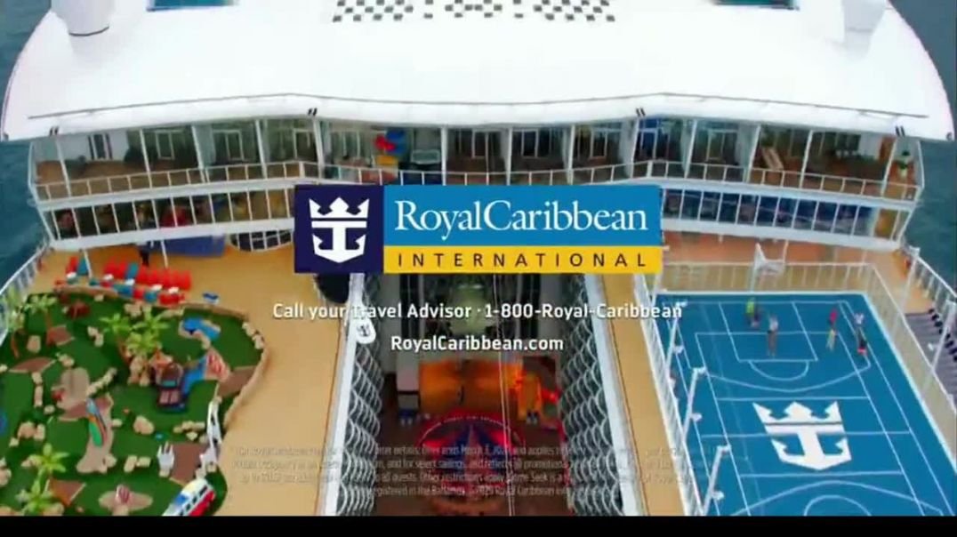 Royal Caribbean Cruise Lines TV Commercial Ad, Road Less Traveled $499