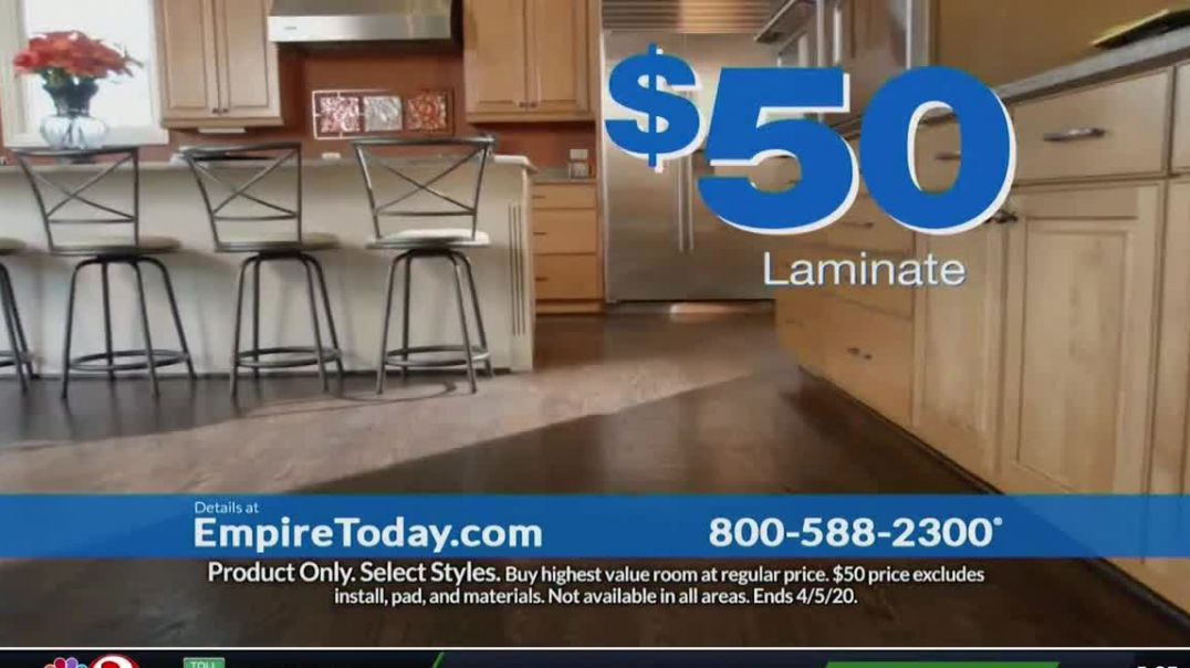 Empire Today $50 Room Sale TV Commercial Ad, Update Your Floors All Other Rooms