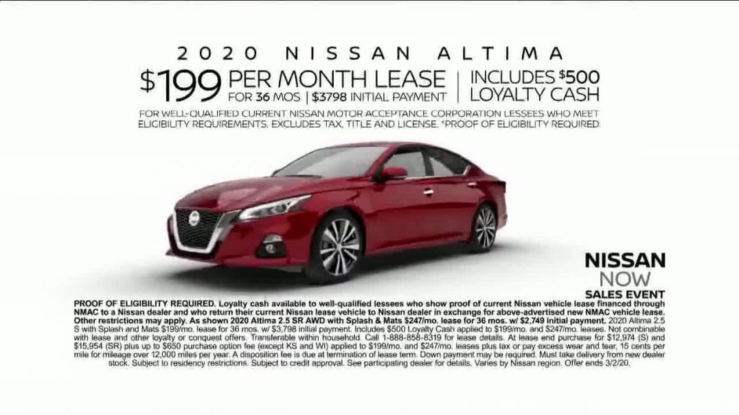Nissan Now Sales Event TV Commercial Ad, CarBuying Season