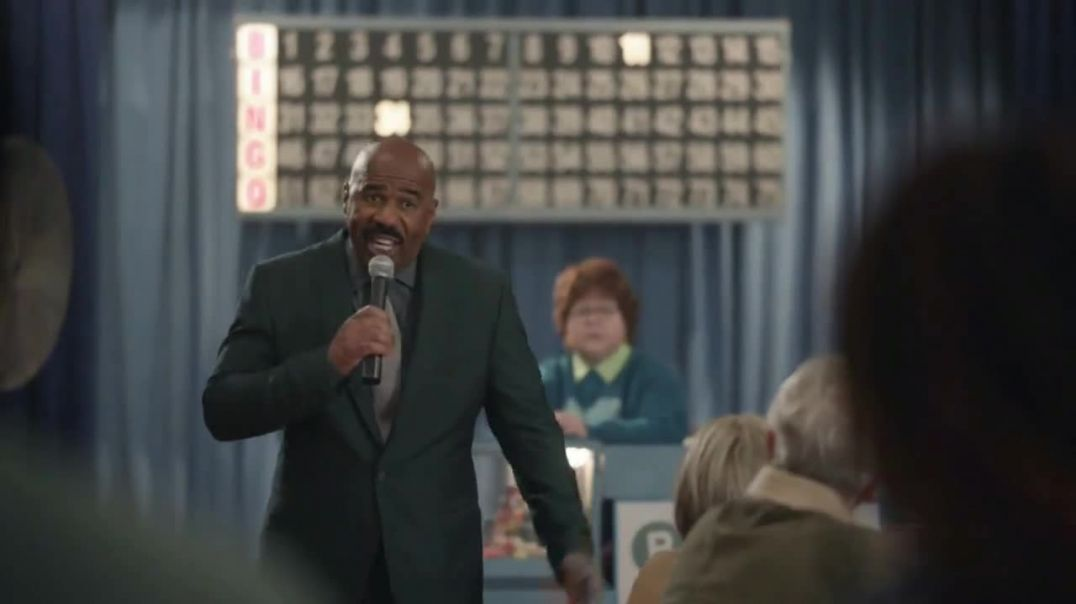 AT&T Wireless TV Commercial Ad, Bingo Featuring Steve Harvey
