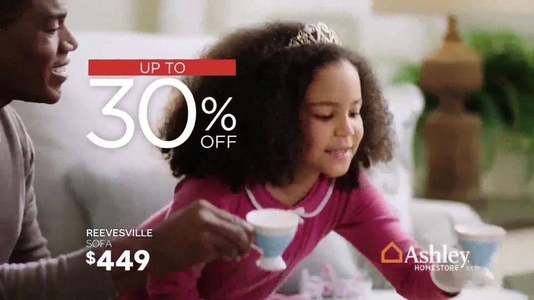 Ashley HomeStore Presidents Day Sale TV Commercial Ad, Extended 30 Percent Off Song by Midnight Riot