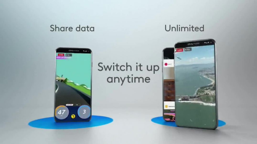 XFINITY Mobile TV Commercial Ad, Design Your Own Data $300 Off