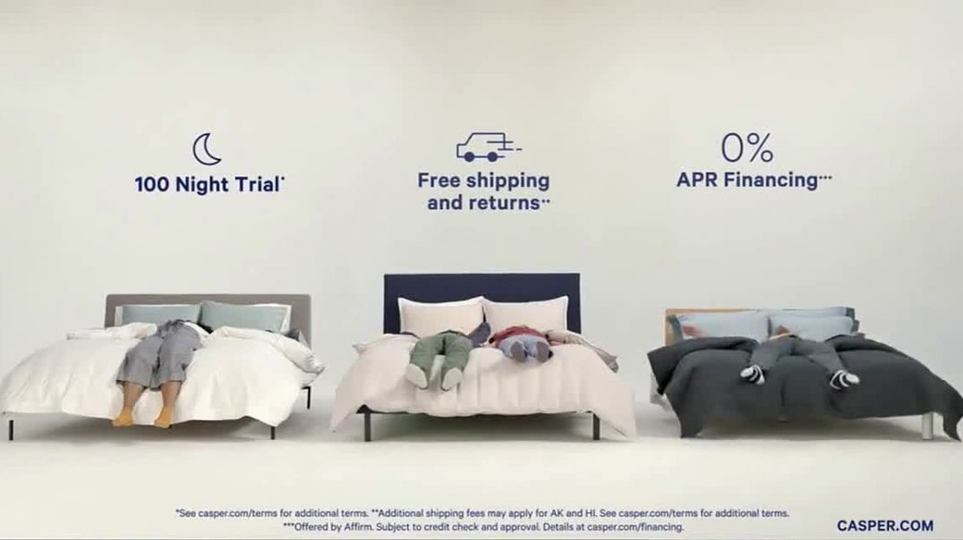 Casper EndofSeason Clearance TV Commercial Ad, Save Up to 20 Percent