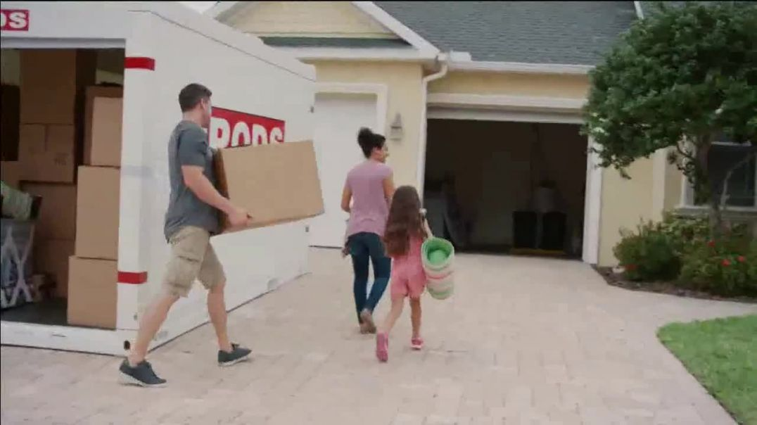 Pods TV Commercial Ad, Move and Store Your Way