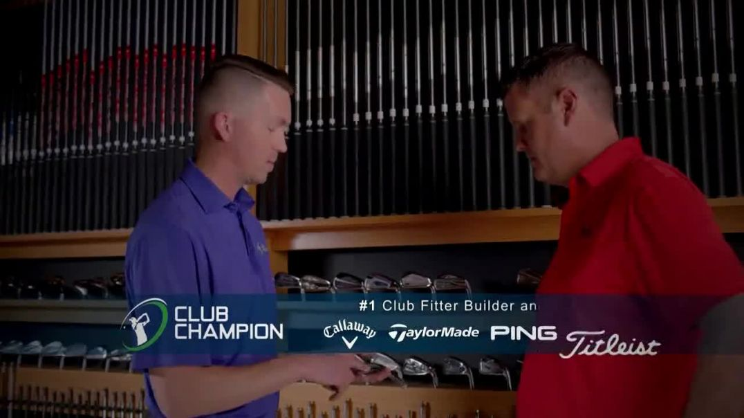 Club Champion TV Commercial Ad, Free Advice Club Fitting Featuring David Leadbetter