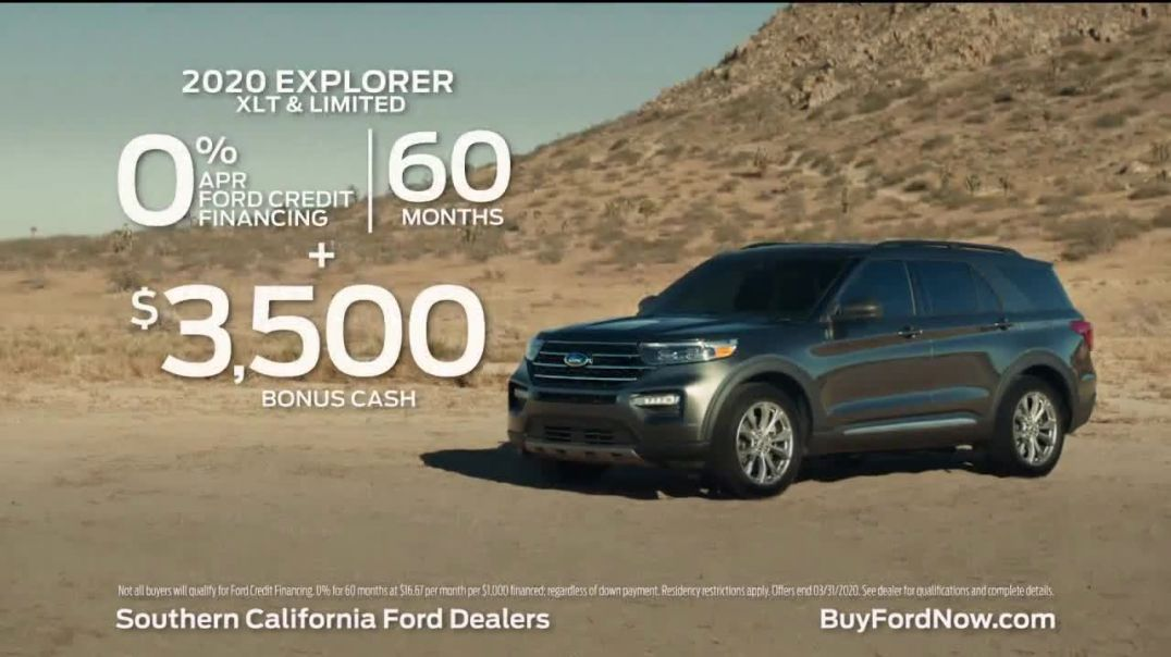 2020 Ford Explorer TV Commercial Ad, To Be an Explorer Song by Ali Beletic