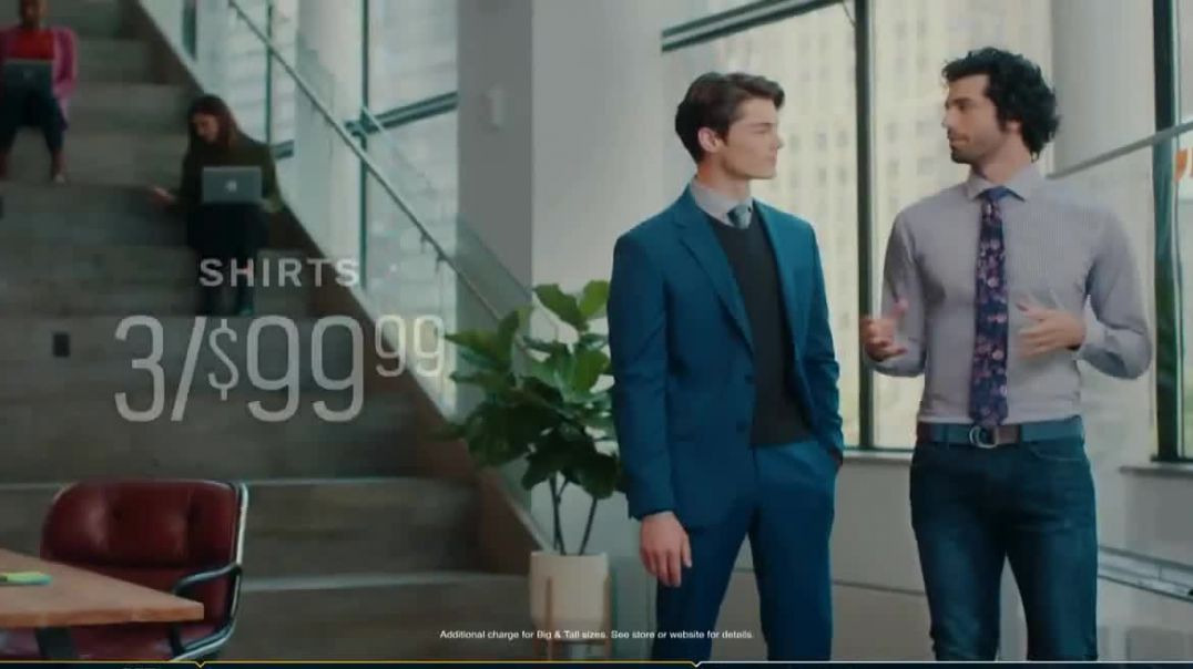 Mens Wearhouse TV Commercial Ad, Workday Essentials Song by Free