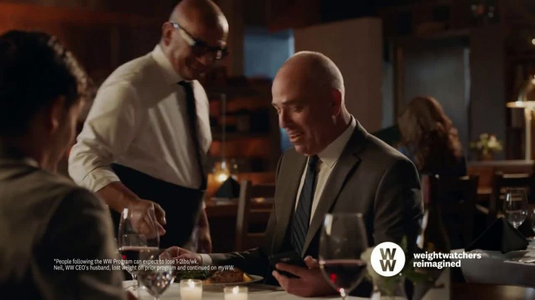 myWW TV Commercial Ad, Neil Triple Play Cookbook