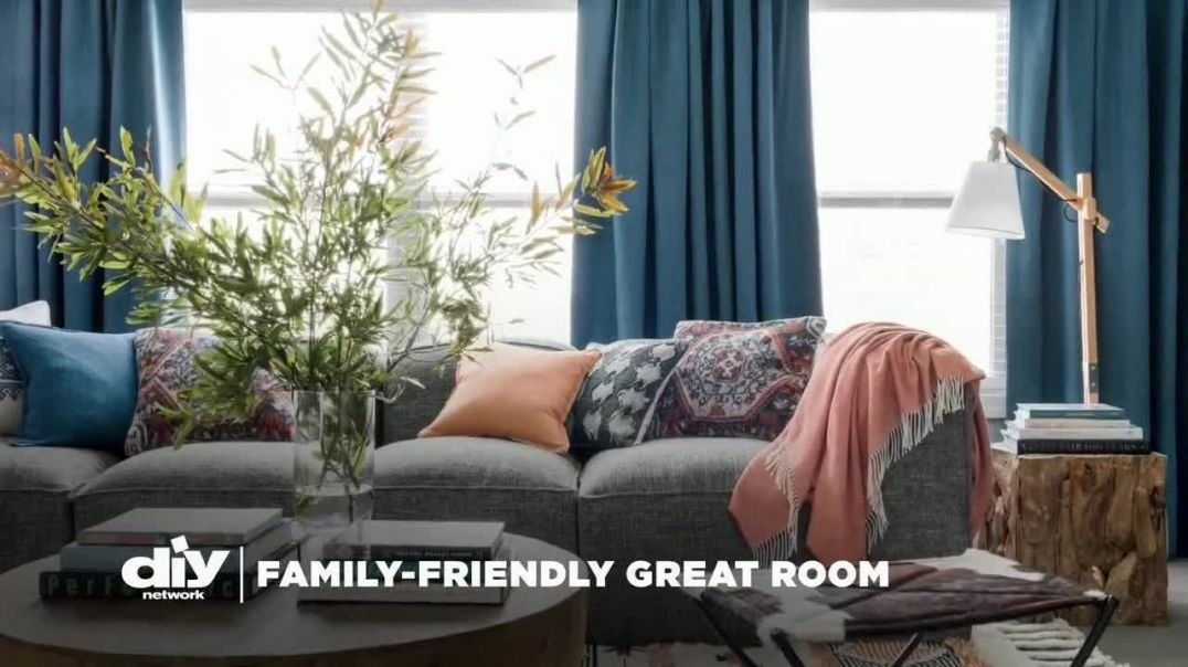 Wayfair TV Commercial Ad, DIY Network FamilyFriendly Great Room