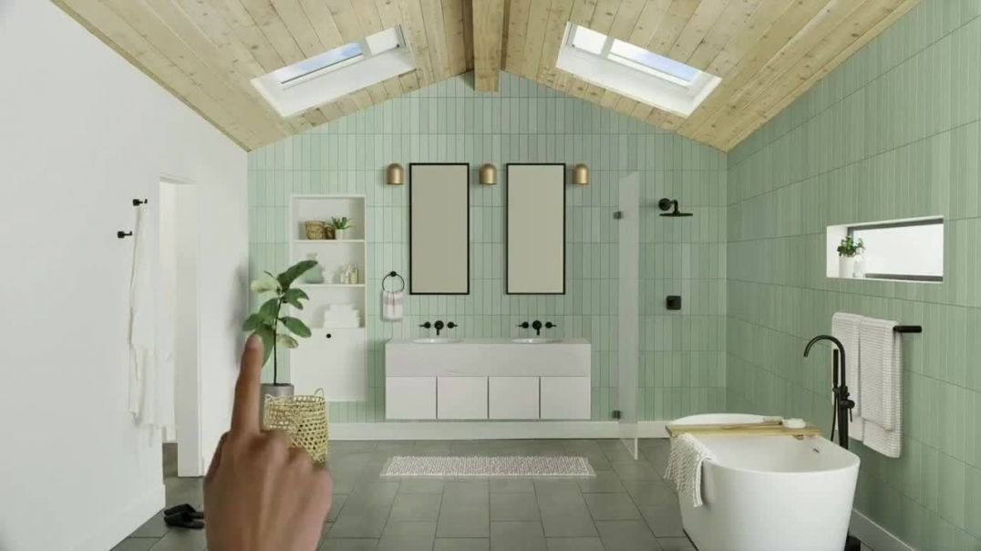 Velux Skylights TV Commercial Ad, Freshen Things Up