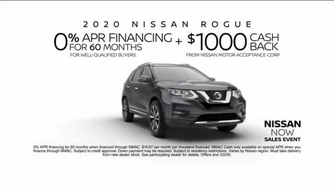 Nissan Now Sales Event TV Commercial Ad 2020, CarBuying Season