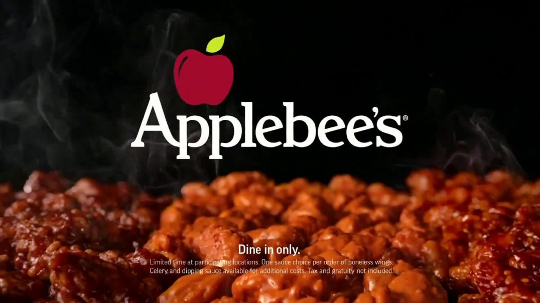 Applebees 25Cent Boneless Wings TV Commercial Ad 2020, Back in Three Sauces Song by Survivor