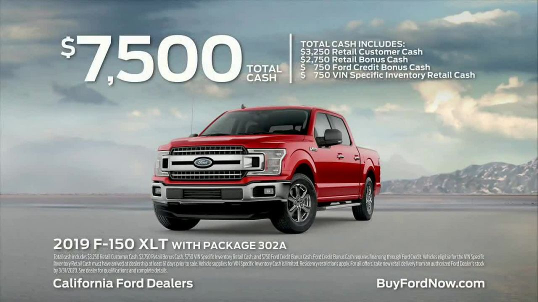 2019 Ford F150 TV Commercial Ad 2020, Drive It Home Song by The Phantoms