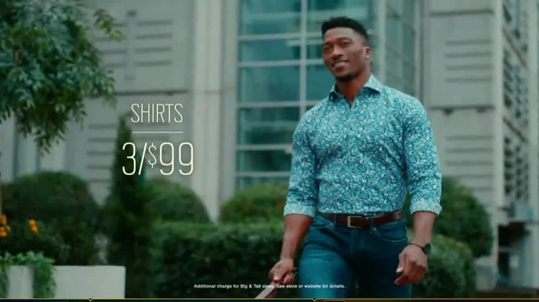 Mens Wearhouse TV Commercial Ad 2020, Style Your Spring Suits and Shirts
