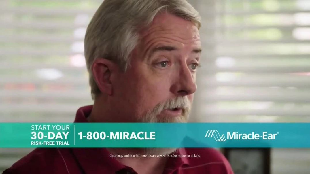 MiracleEar TV Commercial Ad 2020, Ben & Bobby 30 Day Trial