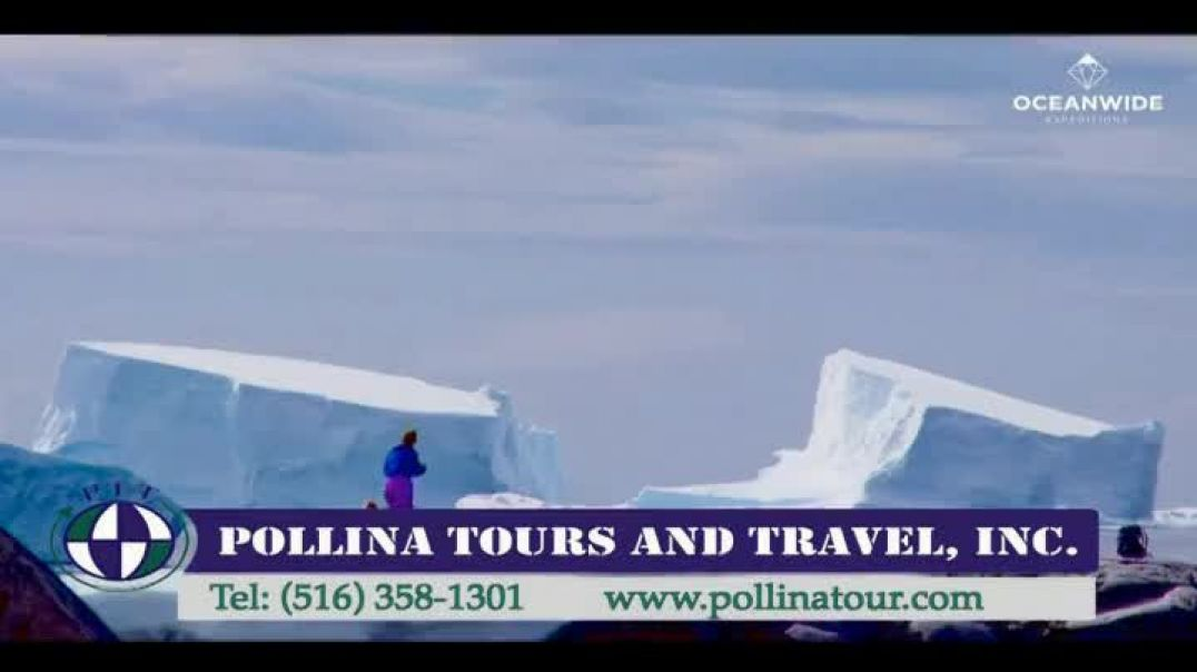 Pollina Tours & Travel TV Commercial Ad 2020, Antarctica Cruise