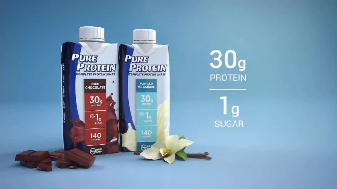 Pure Protein TV Commercial Ad 2020, Make Fitness Routine Shakes