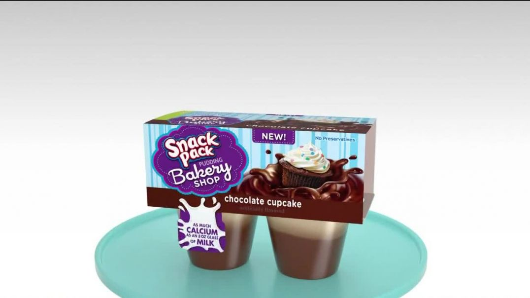 Snack Pack TV Commercial Ad 2020 for Bakery Shop Flavors
