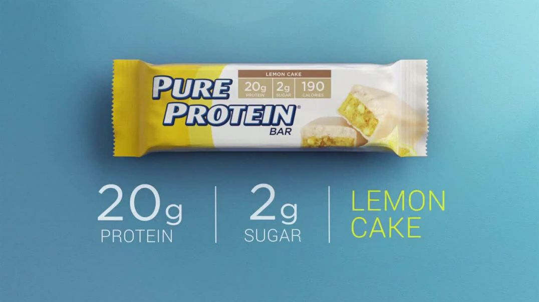 Pure Protein Lemon Cake TV Commercial Ad 2020, Make Fitness Routine