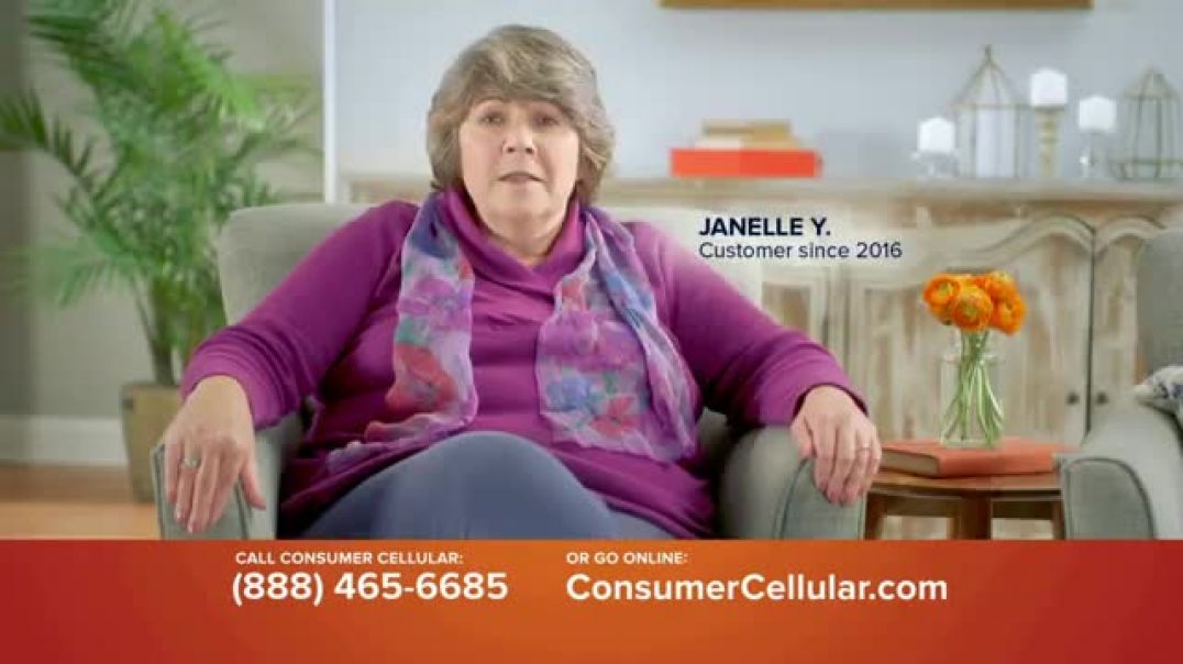 Consumer Cellular TV Commercial Ad 2020, Keeping It Real Plans $15+ a Month 50 Big Ones