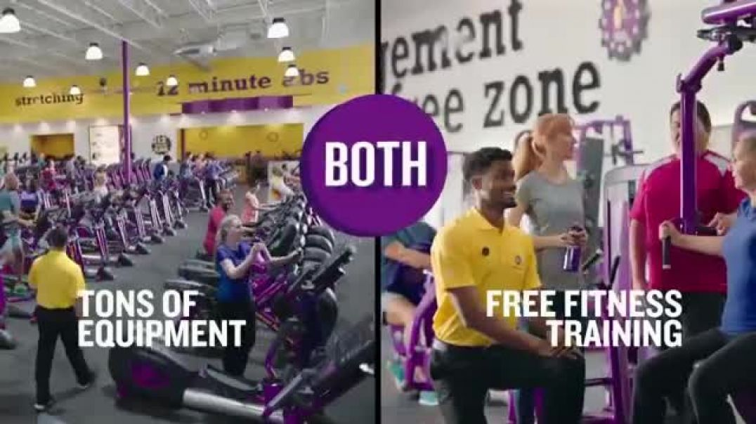 Planet Fitness TV Commercial Ad 2020, You Get Both 25 Cents Down $10 a Month