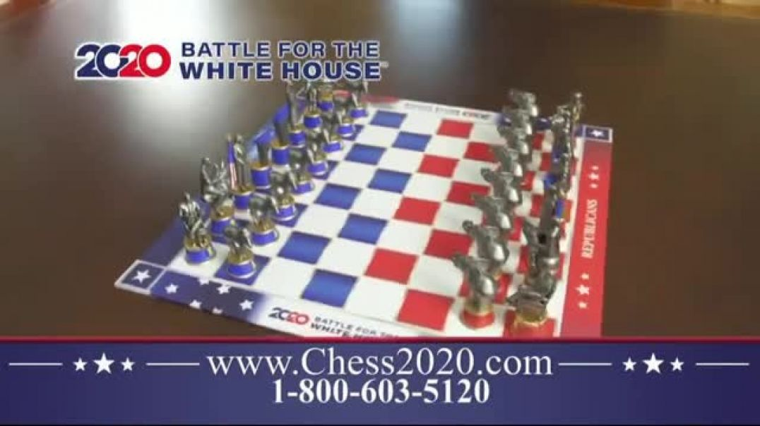 Chess 2020 Battle for the White House TV Commercial Ad 2020, Most Exciting Races in US History