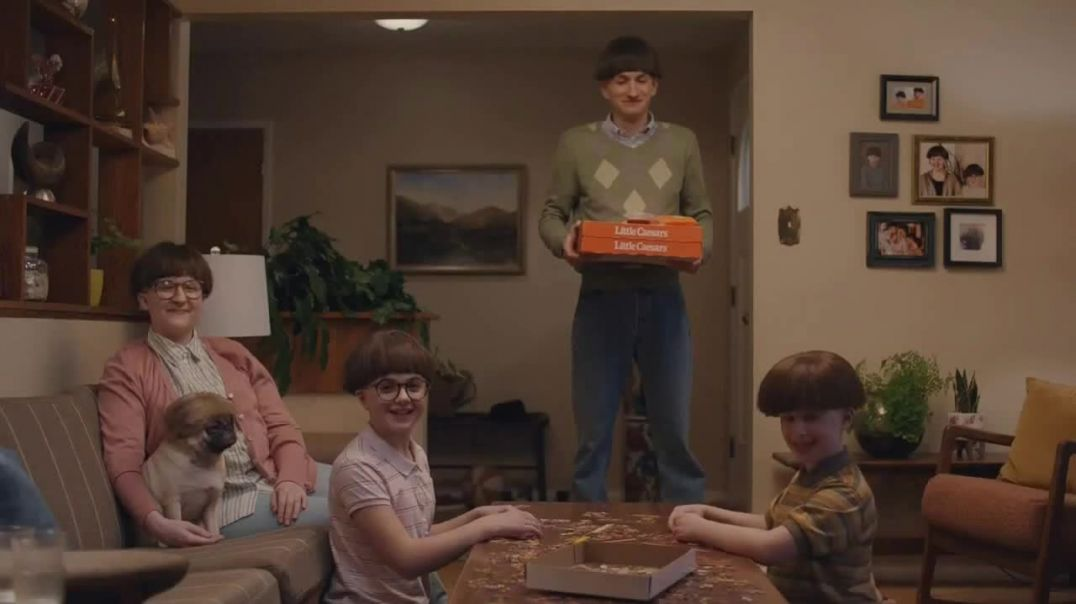 Little Caesars Pizza TV Commercial Ad, Peace of Mind Advert 2020