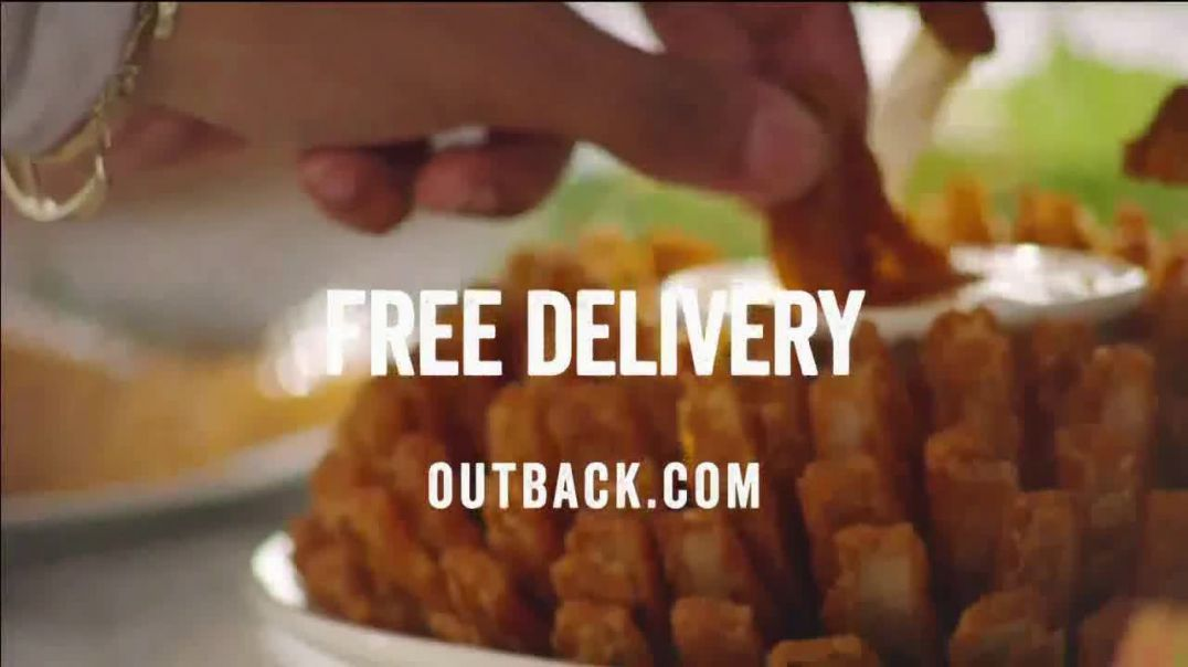 Outback Steakhouse Delivery TV Commercial Ad, Delivery Is Here Free Delivery Advert 2020