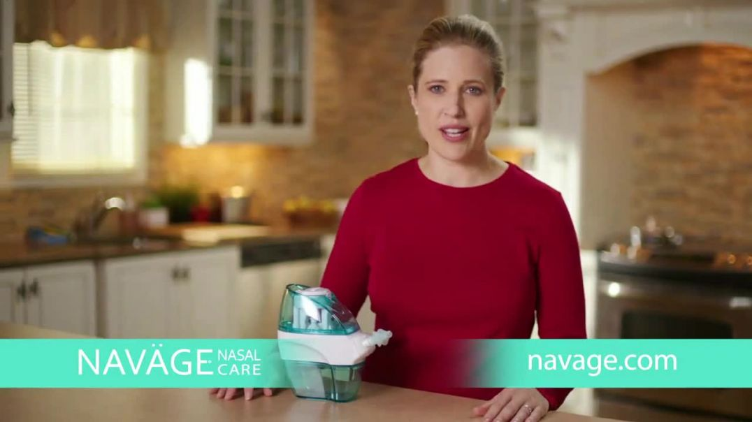 Navage TV Commercial Ad, For Improved Nasal Hygiene Advert 2020