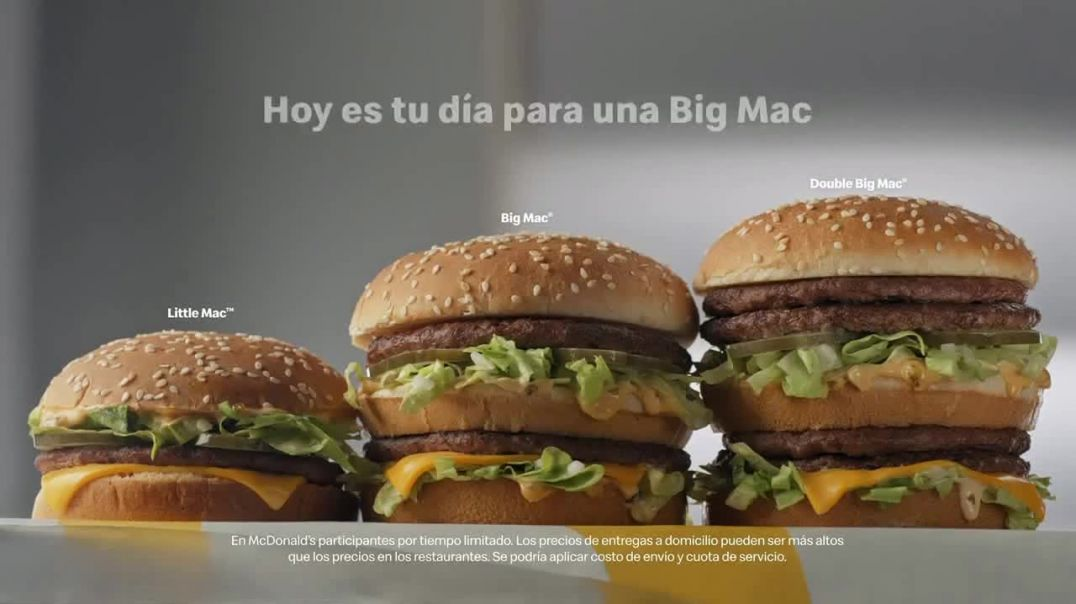 McDonalds Big Mac TV Commercial Ad, Se ajusta a tu apetito Advert 2020
