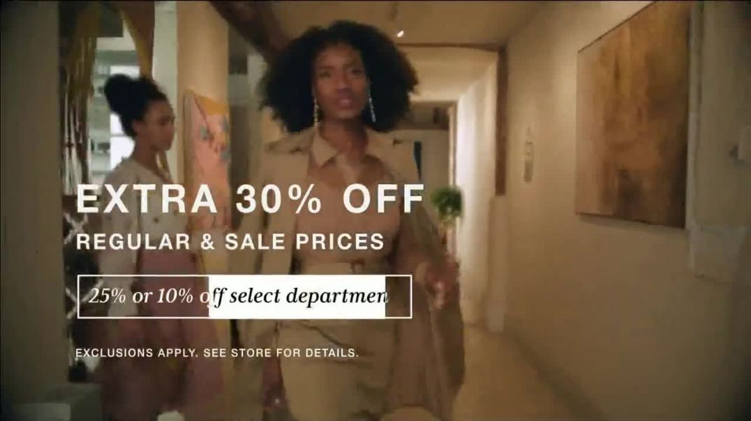 Macys VIP Sale TV Commercial Ad, Spring Fashion 30 Percent Off & $25 Free Shipping Adver