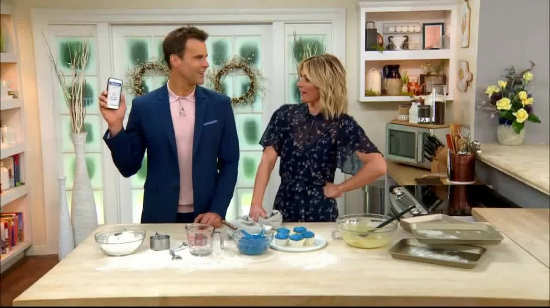 GEICO TV Commercial Ad, Hallmark Channel Cupcakes Ft Cameron Mathison, Debbie Matenopoulos Advert 20