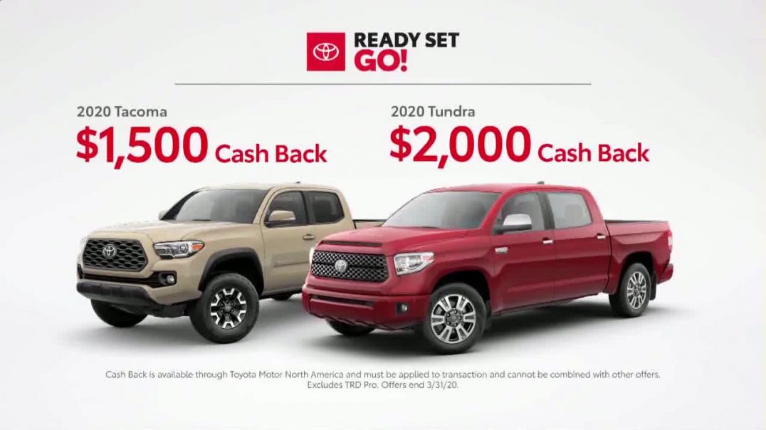 Toyota Ready Set Go! TV Commercial Ad, Imagine Yourself Enough Advert 2020