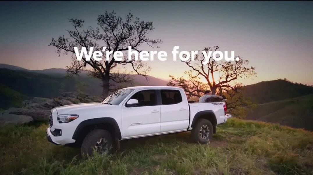 Toyota TV Commercial Ad, We Are Here For You Advert 2020