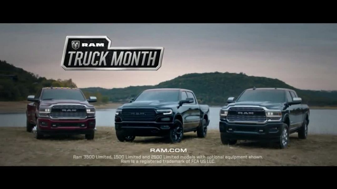 Ram Truck Month TV Commercial Ad, Step Up Advert 2020