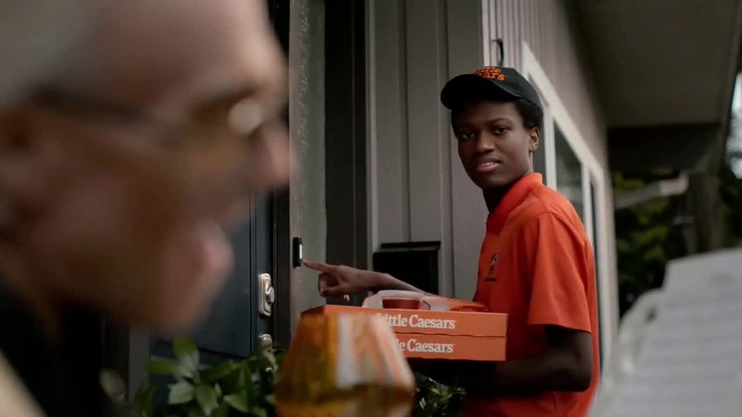 Little Caesars Pizza TV Commercial Ad, Doorbell No Touch Advert 2020