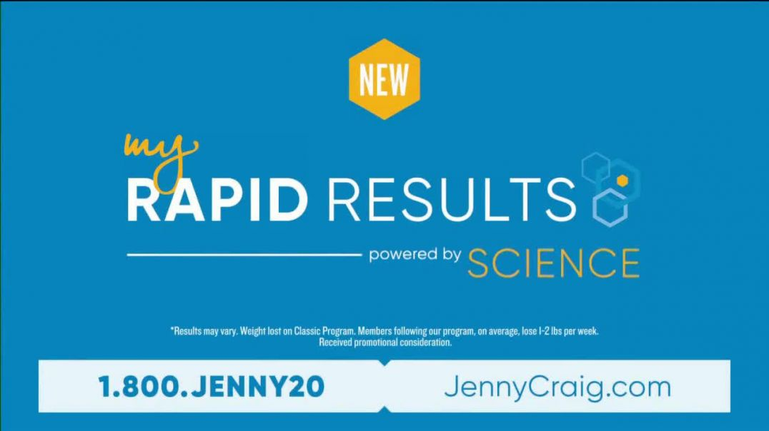 Jenny Craig My Rapid Results TV Commercial Ad 2020, Custom Fit