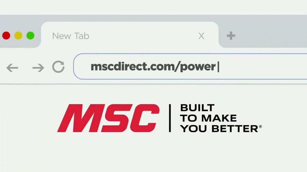 MSC Industrial Supply TV Commercial Ad 2020, In the Garage and the Shop