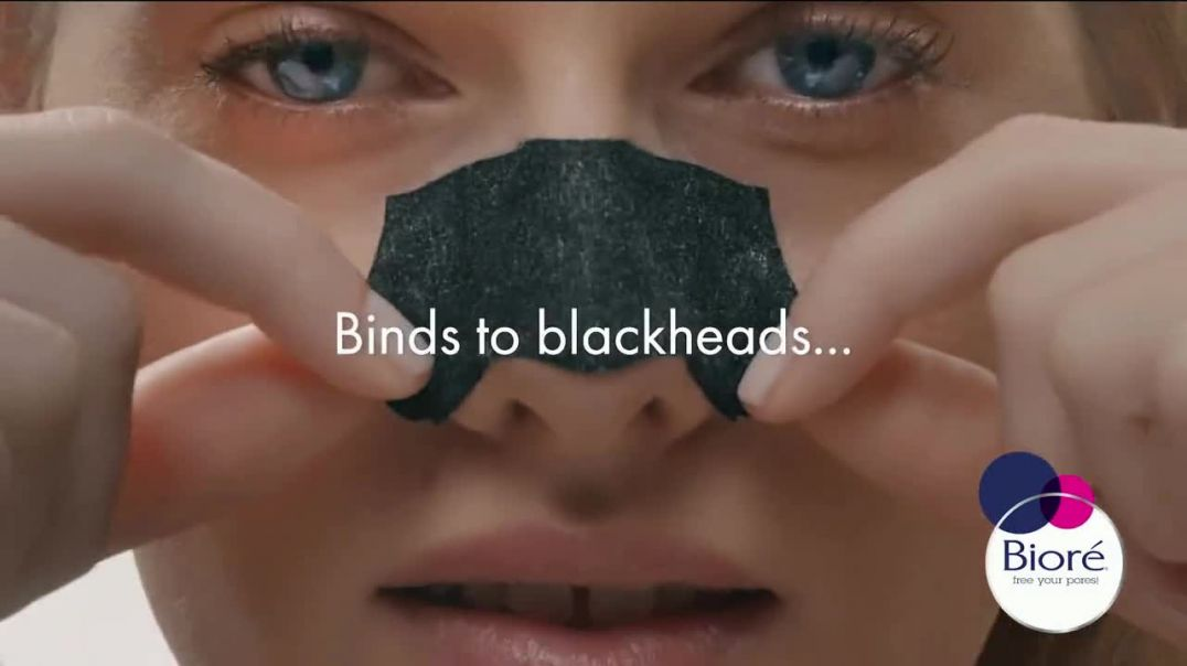 Bioré Charcoal Deep Cleansing Pore Strips TV Commercial Ad 2020, Oddly Satisfying Results