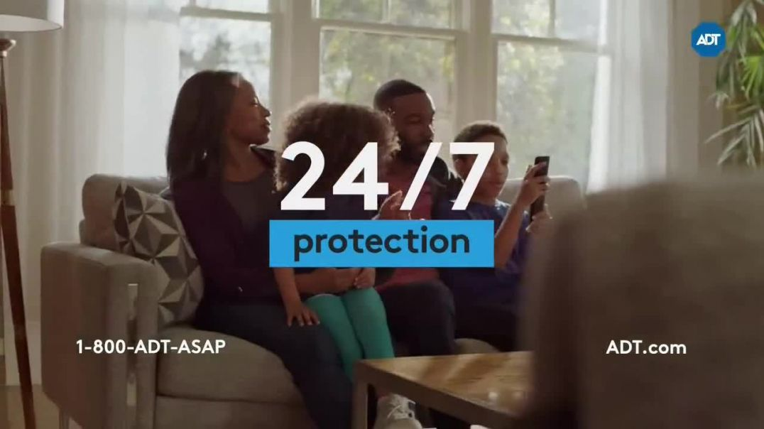 ADT TV Commercial Ad 2020, What Stands Behind the Yard Sign