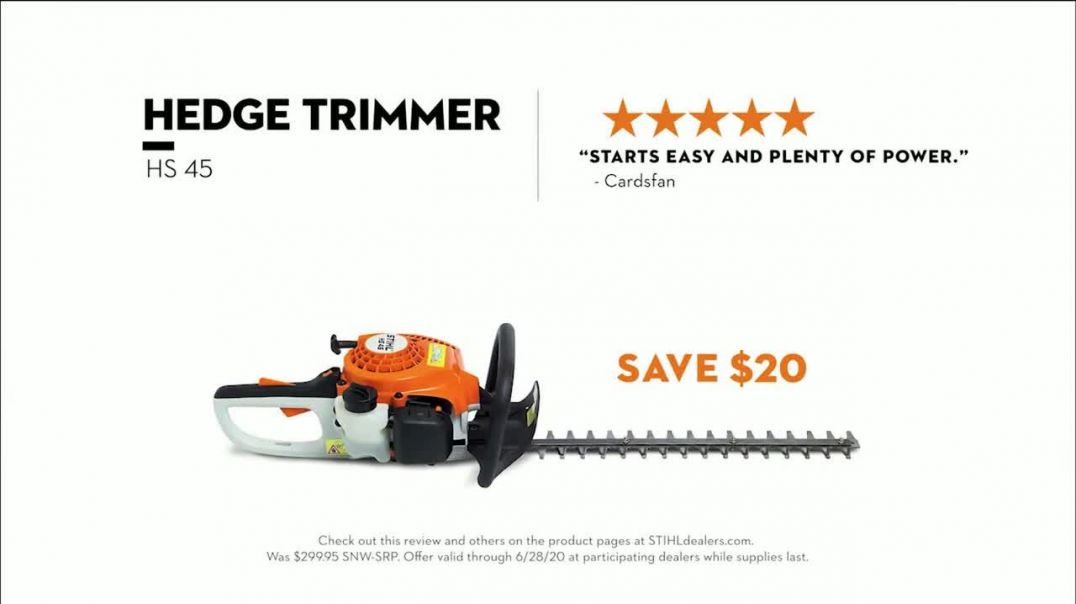 STIHL TV Commercial Ad 2020, Your ToDo List Lawn & Hedge Trimmers Song by Sacha James Co