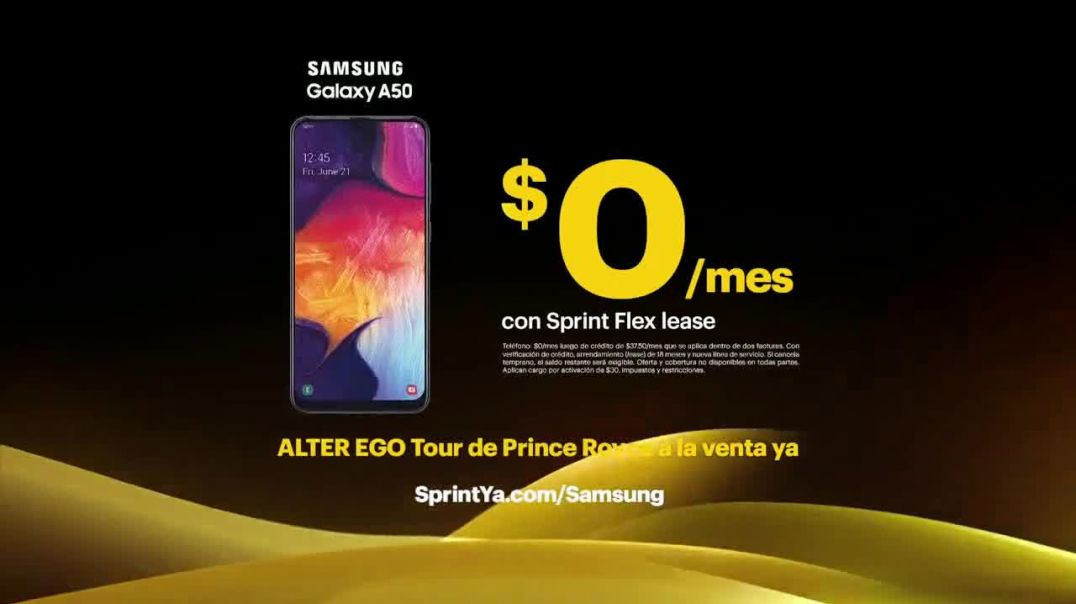 Sprint TV Commercial Ad 2020, Highway Patrol teléfono Galaxy A50 con Prince Royce