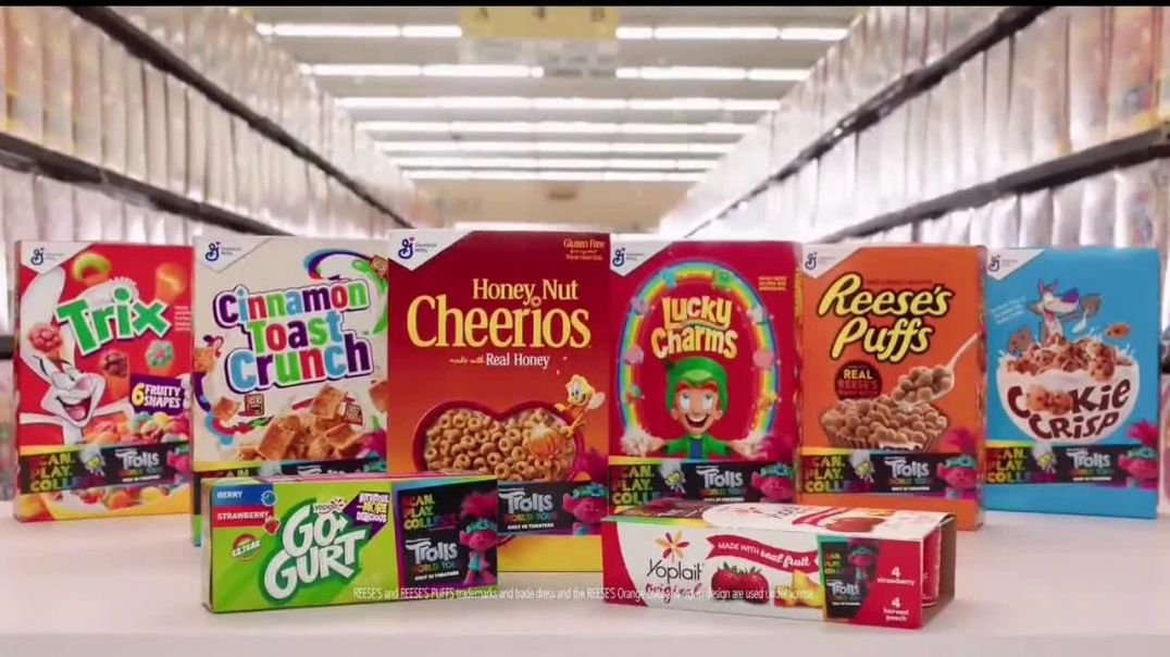 General Mills TV Commercial Ad 2020, Trolls World Tour